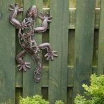 Lizard Metal Garden Wall Art by Gardman