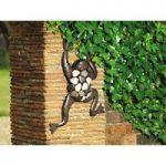 Climbing Frog Metal Garden Metal Wall Art by Gardman