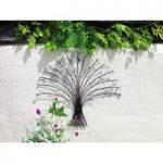 Glass Bead & Metal Bouquet Wall Art by Gardman