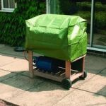 Trolley Barbecue Cover by Kingfisher