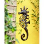 Glass Bead & Metal Seahorse Garden Wall Art by Gardman