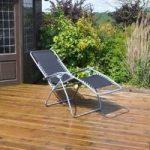 Gravity Garden Reclining Sunlounger Chair by Kingfisher