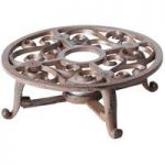 Cast Iron Candle Pot Warmer (Round) by Fallen Fruits