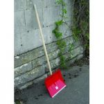 Wooden Handle Heavy Duty Snow Shovel by Kingfisher