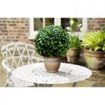Small Leaf Effect Artificial Topiary Ball by Gardman