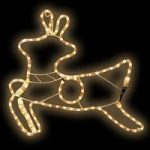 Prancing Reindeer Outdoor Christmas Rope Light
