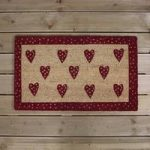 Valentine Love Hearts Design Coir Doormat by Gardman