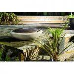 Sandstone Springs Circular Outdoor Water Feature (Mains) by Gardman