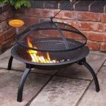 Lucio Portable BBQ Firepit with Bag by Gardeco