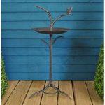 Tree Pedestal Metal Bird Bath by Gardman