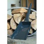 Metal Ash & Coal Shovel in Slate by Garden Trading