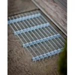 Galvanised Metal Grill Doormat – Small by Garden Trading