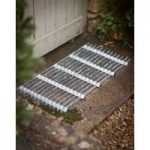 Galvanised Metal Grill Doormat – Large by Garden Trading