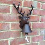 Stag Cast Iron Doorbell by Fallen Fruits