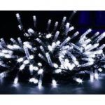 80 LED Multi-Action White String Lights (Battery) by Kingfisher