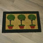Belton Printed Coir Door Mat by Gardman