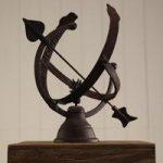 Armillary Cast Iron Sundial by Fallen Fruits