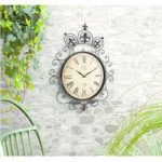 Versailles Metal Garden Wall Clock by Gardman