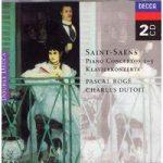 SAINT-SAENS- Piano Concertos 1-5, 2CDs