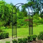 Metal Westminster Garden Arch by Gardman