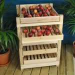 Traditional Wooden Apple Storage Rack (5 Drawer) by Selections