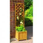 Wooden Trellis Garden Planter by Gardman