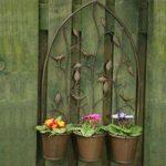 Nature Design Triple Pot Wall Planter by Gardman