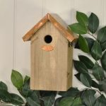 Blue Tit Box with Copper Roof by Fallen Fruits