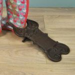 Cast Iron Decorative Boot Pull by Fallen Fruits