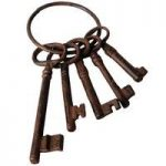 Ornamental Cast Iron Keys by Fallen Fruits
