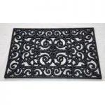 Victorian Design Rubber Doormat by Fallen Fruits