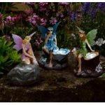 Fairy Statue Spotlights Pack of 3 (Solar) by Smart Solar