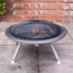 Estrella Large Steel Fire Bowl by Gardeco