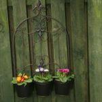 Versailles Design Triple Pot Wall Planter by Gardman