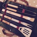 Deluxe 4 Piece Barbecue Tool Set by Fallen Fruits