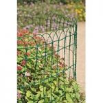 Lawn & Border Fence in Green (10m x 0.65m) by Gardman