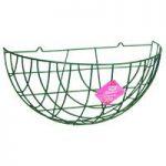 Metal Garden Wall Basket Planter in Green by Gardman