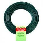 3.5mm Heavy Duty PVC Coated Garden Wire Roll (30m) by Bosmere