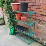 4 Tier Greenhouse Staging by Kingfisher