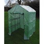 2 Bay Walk-in Mini Greenhouse & Shelving by Selections