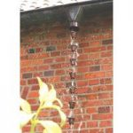 Cast Iron Rain Chain for Downpipes by Fallen Fruits