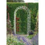 English Rose Metal Garden Arch by Gardman