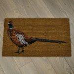 Pheasant Design Coir Doormat by Gardman