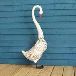 Silhouette Swan Light Garden Sculpture (Solar) by Smart Garden