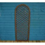Willow Trellis With Curved Top (120cm x 45cm) by Gardman