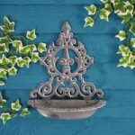 Wall Mounted Cast Iron Bird Feeder by Gardman
