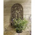 Cast Iron Welcome Garden Pot Holder by Gardman