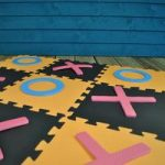 Giant Noughts and Crosses by Kingfisher