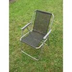 Metal Folding Chair for Kingfisher Furniture Set
