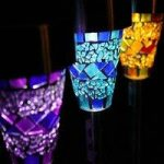 Mosaic Border Lights Pack of 6 (Solar) by Gardman